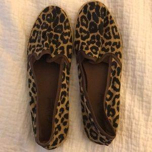 Lucky Brand Leopard Flats 7